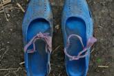 A Long Walk (Refugee Shoe Project) © Shannon Jensen, 2014
